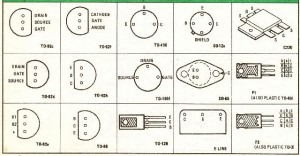 Transistor Pin-Out Tables